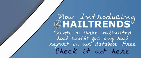 Free Hail Swaths - The ultimate free hail research tool!